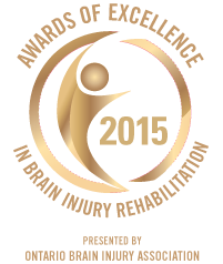 Congratulations to the 2015 Awards of Excellence in Brain Injury Rehabilitation Winners