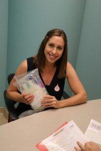 McLeish Orlando Donates Blood