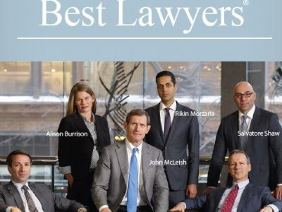 Six McLeish Orlando Lawyers Named to 2017 Best Lawyers in Canada List
