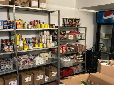 McLeish Orlando Donates to Fort York Food Bank