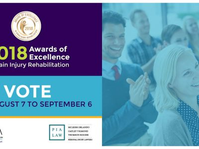 2018 Awards of Excellence in Brain Injury Rehabilitation