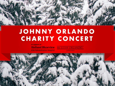 McLeish Orlando Presents: Johnny Orlando Charity Concert