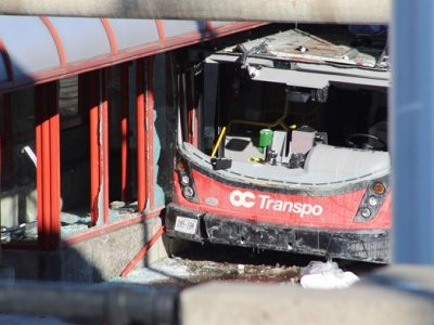 McLeish Orlando is Looking for Information Related to the Ottawa Bus Crash at Westboro Station
