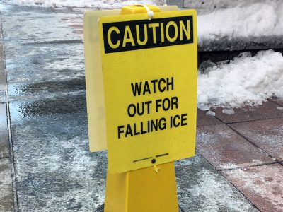 The Sky is Falling: The Dangers of Falling Ice