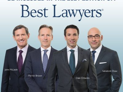 2021 BEST LAWYERS® LIST