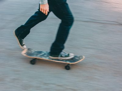 A Skateboard is a Vehicle? What the…that's a total wipeout