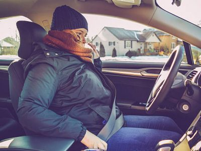 Take off that bulky winter coat before buckling up! – serious safety concerns for you and your children