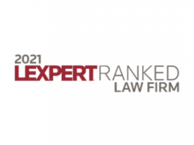 McLeish Orlando Lawyers Recognized in 2021 Legal Lexpert® Directory Rankings