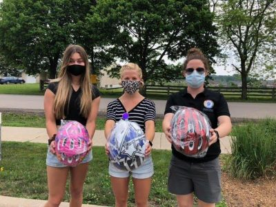 The Record – Brain injury group distributes free bike helmets for children