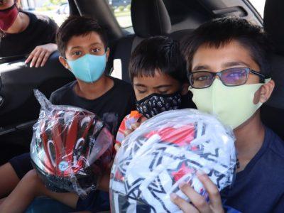 Cambridge Today – Brain injury association's program delivers 416 free bike helmets to Cambridge kids